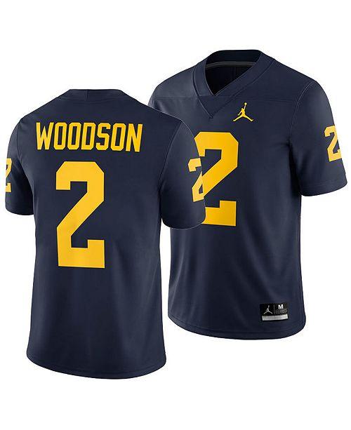 pretty nice bdd2a 5b7b5 Men's Charles Woodson Michigan Wolverines Player Game Jersey