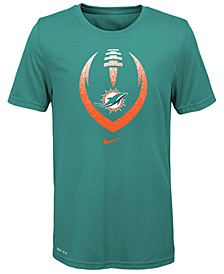 Big Boys Miami Dolphins Football Icon T-Shirt