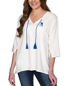 UG Apparel Women's Kentucky Wildcats Tassel Tunic Top