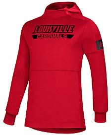 adidas Men's Louisville Cardinals Game Mode Hooded Sweatshirt