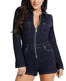 GUESS Denim Romper