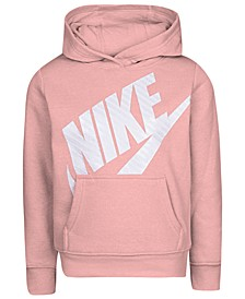Little Girls Futura Fleece Logo-Print Hoodie