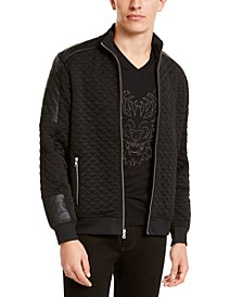 INC Men's Knit Spout Jacket, Created For Macy's
