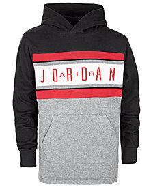 Jordan Little Boys Colorblocked Air Jordan Cotton Hoodie
