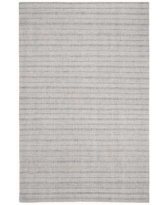 Miles Stripe LRL6400C Silver 5' X 8' Area Rug