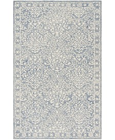 Olivier LRL6935M Blue and Ivory Area Rug Collection