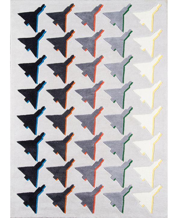 Novogratz Lulu Lul-2 Gray Area Rug Collection