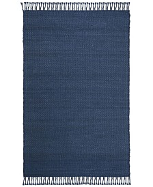 Amalie LRL6350F Navy Area Rug Collection