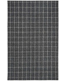 Tamworth Check LRL6450A Charcoal Area Rug Collection