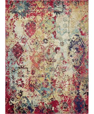 Newhedge Nhg2 Multi 5' x 8' Area Rug