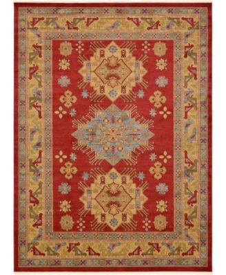 Harik Har1 Red 8' x 8' Round Area Rug
