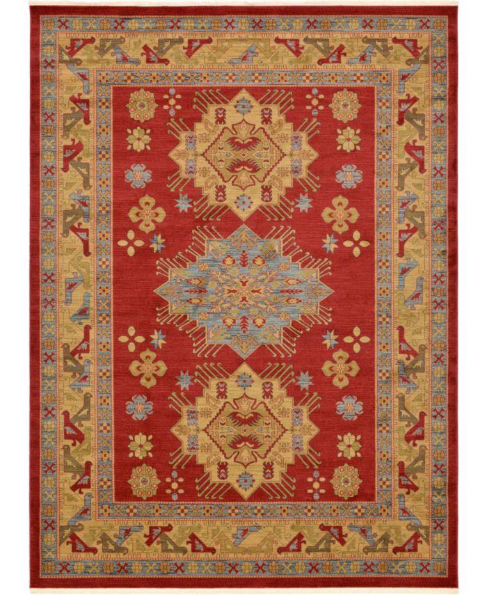 Bridgeport Home Harik Har1 Red Area Rug Collection & Reviews - Rugs - Macy's