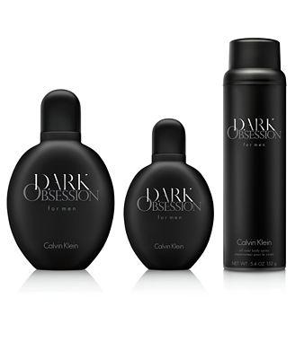 Calvin Klein DARK OBSESSION for men Fragrance Collection