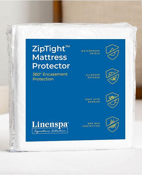 Linenspa ZipTight Encasement Mattress Protector, King