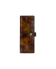Patricia Nash Bark Leaves Marotta Card Case