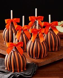 Fall Triple Chocolate Caramel Apples, Set of 12
