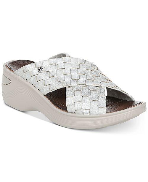 Bzees Dusty Wedge Sandals