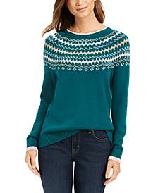 Fair Isle Sweater, Created For Macy's