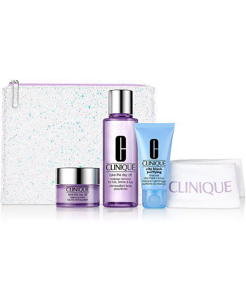 Clinique 5-Pc. Cleansing By Clinique Set