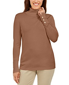 Petite Turtleneck Sweater, Created For Macy's