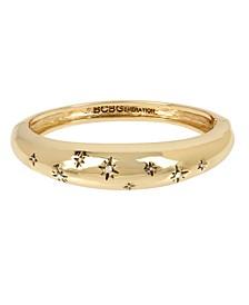 Starry Hinged Bangle Bracelet