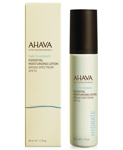 Ahava Essential Day Moisturizer Broad Spectrum SPF 15
