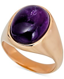 Men's Amethyst Ring (8-1/2 ct. t.w.) in 14k Gold-Plated Sterling Silver