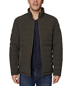 Men's Mid-Weight Stretch Reversible Puffer Jacket