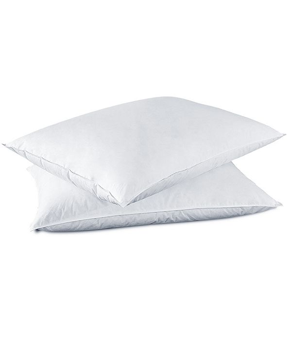UNIKOME 2 Pack White Goose Down and Feather Bed Pillows, Size- Standard/Queen