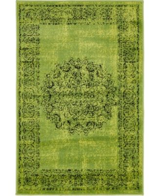 Linport Lin5 Sage Green 10' x 13' Area Rug