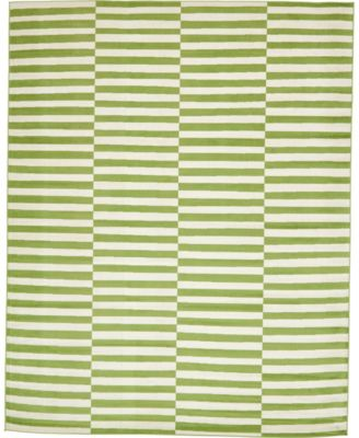 Axbridge Axb2 Green 4' x 6' Area Rug