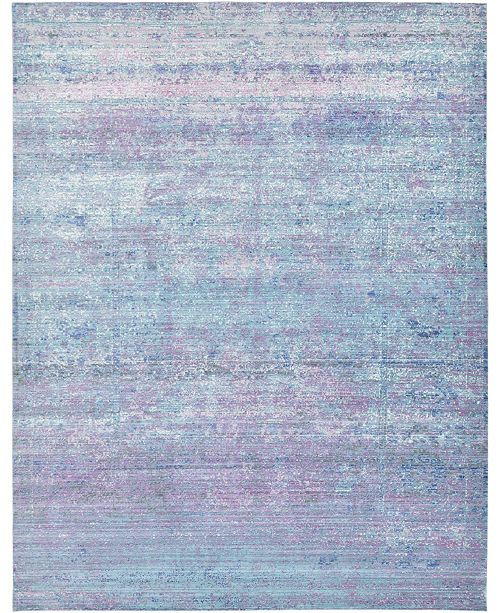 Bridgeport Home Malin Mal8 Light Blue Area Rug Collection