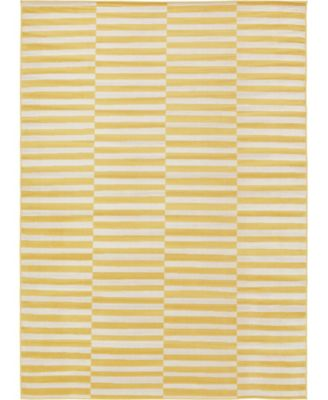 Axbridge Axb2 Yellow 9' x 12' Area Rug