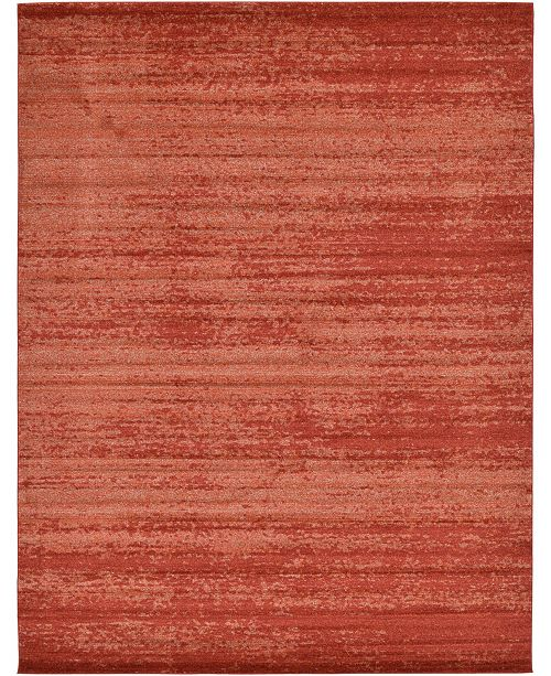 Bridgeport Home Lyon Lyo3 Terracotta Area Rug Collection
