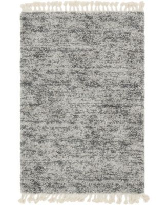 Lochcort Shag Loc3 Gray 2' 2