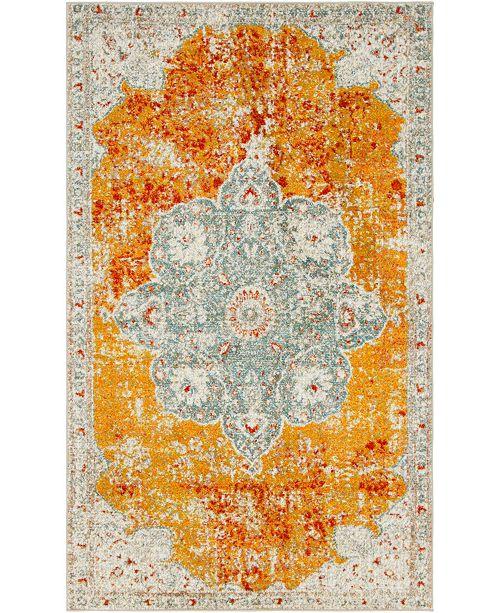 Bridgeport Home Mishti Mis8 Orange Area Rug Collection