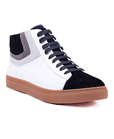 French Connection Men's Grand Hi Top Sneaker