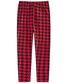 Big Girls Houndstooth Leggings, Created For Macy's