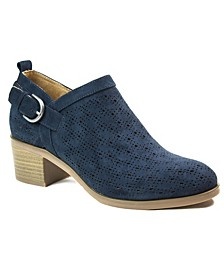 Astrid Low Booties