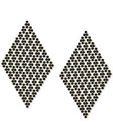 GUESS Crystal Kite Chandelier Earrings