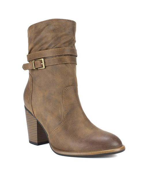 White Mountain Trust Ankle Boots