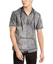 INC Men's Ansel Short Sleeve Hoodie, Created for Macy's