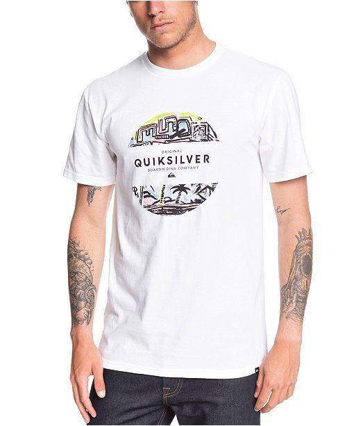 Quiksilver Men's Mixed Prints T-Shirt