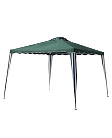 Iron Foldable Gazebo for Outdoor Events Picnic Party Canopy