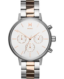 MVMT Women's Nova Stella Two-Tone Stainless Steel Bracelet Watch 38mm