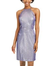 Morgan & Company Juniors' Glitter Bodycon Dress