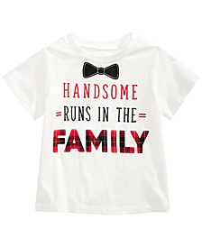 Toddler Boys Cotton Handsome T-Shirt, Created For Macy's