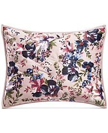 Velvet Floral Standard Sham, Created For Macy's