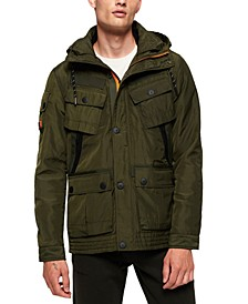 Men's Hooded Utility Jacket