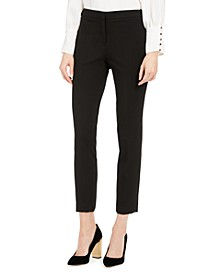 Petite Highline Slim-Leg Ankle Dress Pants